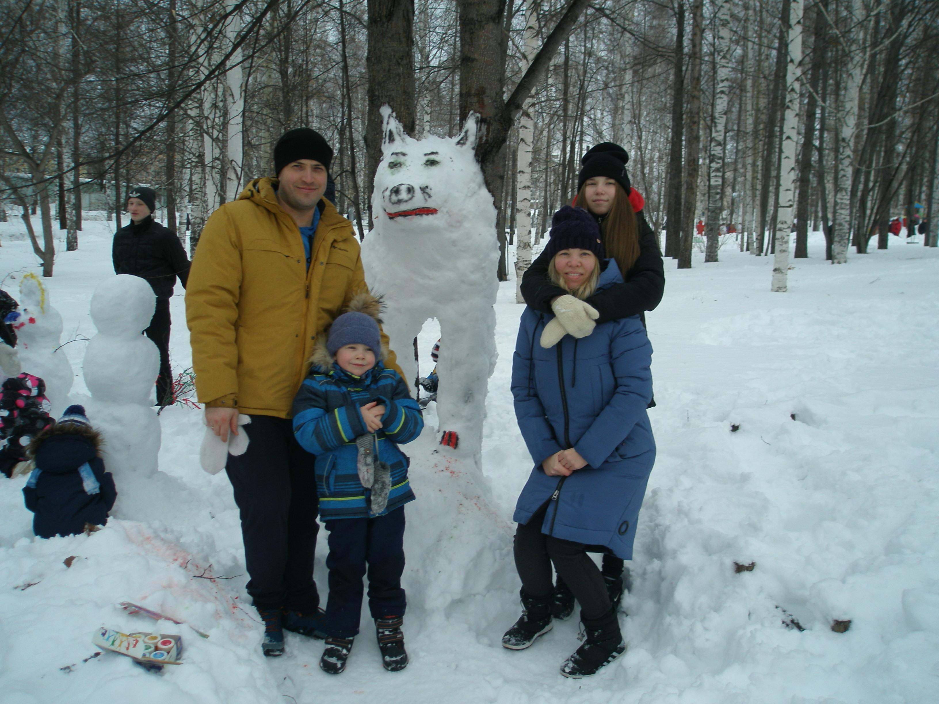 """""""Волк"""", семья Шуклецовых"""