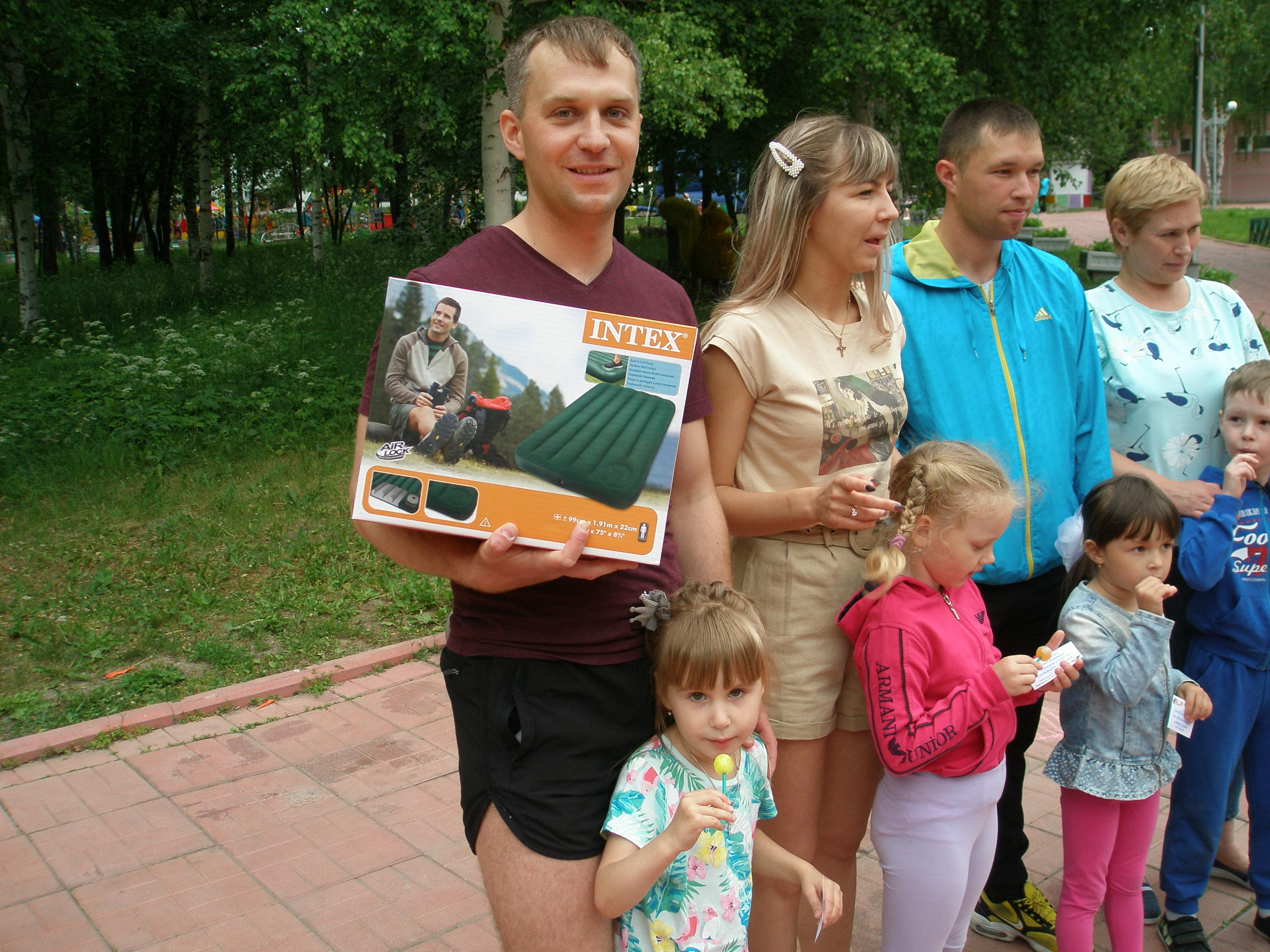 Никита Настаушев с дочерью Настей